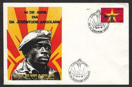 Angola Cachet Commémoratif Jour De La Jeunesse Angolaine 1976 Event Postmark  Youth Day - Angola