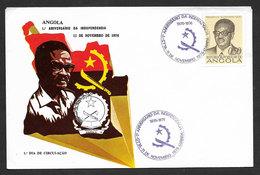 Angola FDC President Agostinho Neto 1976 - Angola