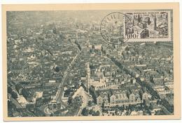 Carte Maximum - LILLE, 1950 - Cartes-Maximum