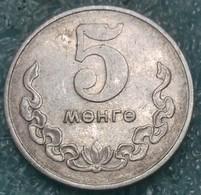 Mongolia 5 Möngö, 1970 - Mongolie