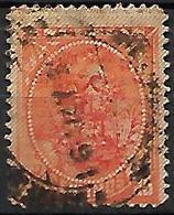 VENEZUELA   -   Fiscal-Postal   -  1893 . Y&T N° 54 Oblitéré .  Surchargé D' Armoiries. - Venezuela
