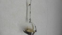 Outil :Ancienne  Lampe à Huile  En Laiton - Tools