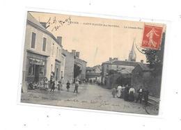 10864 - 85 - SAINT MARTIN DES NOYERS : La Grande Rue, - Otros Municipios