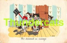 CPA ILLUSTRATEUR  GERMAINE BOURET CHAT CHATS CAT CATS ARTIST SIGNED - Bouret, Germaine