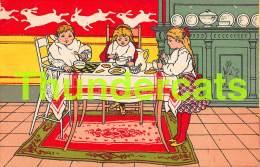CPA LITHO ART NOUVEAU ECOLE COMMUNALE TEMOIGNAGE DE SATISFACTION H L PARIS ENFANTS CHILDREN - Ecoles