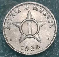 Cuba 1 Centavo, 1984 - Cuba