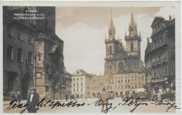 AK 0021  Praha - Staromestsky Orioj S Tynskym Kostelem Um 1932 - Tschechische Republik