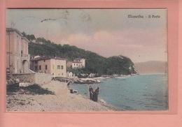 OLD POSTCARD - LAGO DI GARDA -  ITALY - MANERBA - Brescia