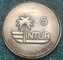 Cuba 5 Centavos, 1981 Denomination With Number 5 - Cuba