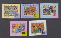 Singapore 1996 Greeting Stamps-Courtesy, Self-Adhesive Booklet Stamps - Singapour (1959-...)