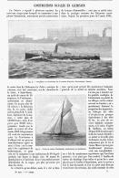 CONSTRUCTIONS NAVALES  En ALUMINIUM  1895 - Transportation