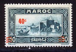 Maroc 1939 Yvert 162a ** TB - Surcharge Deplacee - Marokko (1891-1956)