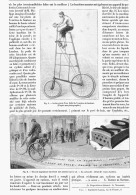 CYCLES 2eme SALON EXPOSITION FRANCAISE INTERNATIONALE Du VELOCIPEDE  1895 - Transports