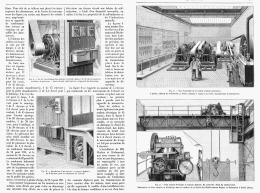 DISTRIBUTION DE FORCE MOTRICE Et D'ECLAIRAGE PAR L'ELECTRICITE  1895 - Non Classés