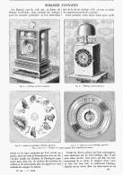 HORLOGES  JAPONAISES   1895 - Bijoux & Horlogerie