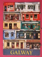 Visuel Très Peu Courant - Irlande - Galway Shopfronts - Recto-verso - Galway