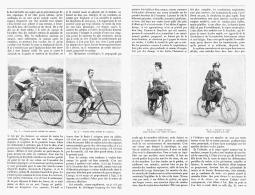 LA BICYCLETTE Et L'HYGIENE   1895 - Transportation