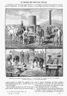 LE SOUDAGE DES RAILS Par COULAGE  1895 - Chemin De Fer