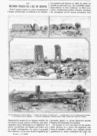 LES MENHIRS PERCéS DE L'ILE  De CHYPRE  1895 - Chypre
