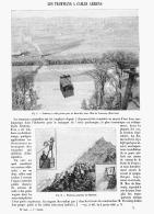LES TRAMWAYS à CABLES AERIENS     1895 - Transports