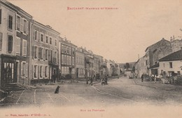 Meurthe Et Moselle : BACCARAT : Rue De Frouard ( Exp. :  Aubry Pharmacien à Connerré - Sarthe ) - Baccarat
