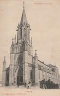 Meurthe Et Moselle : BACCARAT : L'église ( Exp. :  Aubry Pharmacien à Connerré - Sarthe ) - Baccarat