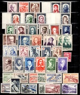 France Belle Petite Collection De Bonnes Valeurs Neufs ** MNH 1943/1959. TB. A Saisir! - Frankreich