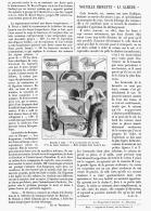 """NOUVELLE BROUETTE  """" LA GAZIERE """"  1895 - Sciences & Technique"""