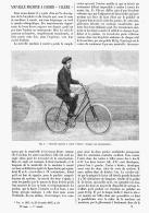 """NOUVELLE MACHINE à COURIR   """" VALERE """"  1895 - Transportation"""