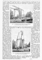 PONT-LEVIS  De CASSEUIL   1895 - Sciences & Technique