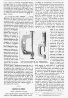 """SCIENCE PRATIQUE   """" PALMER à PRESSION CONSTANTE """"   1895 - Sciences & Technique"""