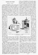 """SCIENCE PRATIQUE  """" Graisseur à Pendule """"  1895 - Jewels & Clocks"""