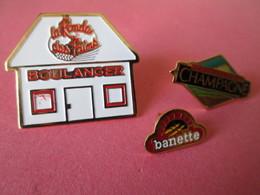 PIN'S   Lot 3  Boulangerie - Alimentación