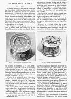 """UNE PETITE MONTRE DE TABLE   """" Datée  1504 """"  1895 - Bijoux & Horlogerie"""