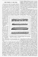 VOIES FERREES Et VOIES D'EAU   1895 - Transports
