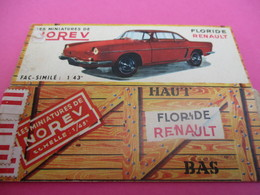 NOREV/ Boite Carton Ancienne Vide ( Manque Abattants De Côtés)/ Floride Renault/1-43éme/Miniature/1955-60   VOIT39 - Other