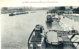 320- PARIS -panorama Sur La Seine Pris Du Viaduc D'Auteuil -ed P Marmuse - El Sena Y Sus Bordes