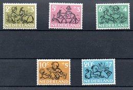 Pays Bas / Série N 582 à 586 / NEUFS ** - 1949-1980 (Juliana)