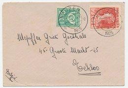 Em. 1923 Neuzen - Eekloo Belgie - Grenstarief - Periode 1891-1948 (Wilhelmina)