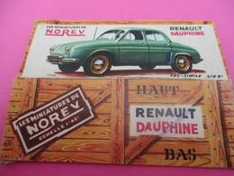 NOREV/ Boite Carton Ancienne Vide ( Manque Abattants De Côtés)/DAUPHINE Renault /1-43éme/Miniature/1955-60   VOIT44 - Other