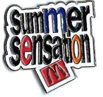 M15 - SUMMER SENSATION - Verso : S.P. - McDonald's