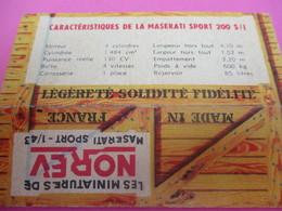 NOREV/ Boite Carton Ancienne Vide ( Manque Abattants De Côtés)/MASERATI Sport 200SI /1-43éme/Miniature/1955-60   VOIT45 - Altri