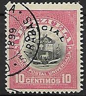VENEZUELA   -   Service  /  Oficial   -    1898 .  Y&T N° 2 Oblitéré - Venezuela
