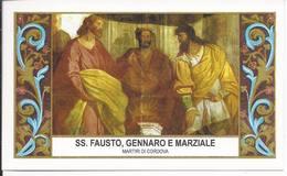 Santi Fausto, Gennaro E Marziale - Martiri Di Cordova - Sc1 - M9 - Andachtsbilder