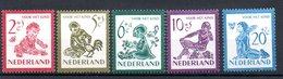 Pays Bas / Série N 549 à 553 / NEUFS ** - 1949-1980 (Juliana)