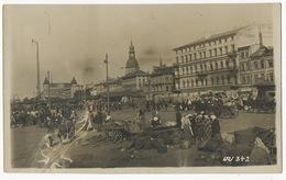 Real Photo Riga Marktplatz One Defect - Lettonie