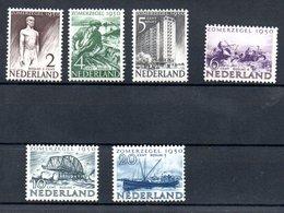 Pays Bas / Série N 535 à 540 / NEUFS** - 1949-1980 (Juliana)