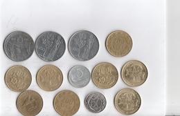 Lotto Di 13 Monete Repubblica Italiana - Anni Vari - Ottimo Stato Di Consevazione - Italia