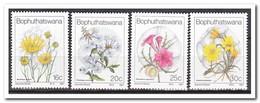 Bophutswana 1987, Postfris MNH, Flowers - Bophuthatswana