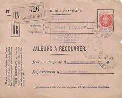 91 1488 Valeurs à Recouvrer TAD 5/12/41 Timbre Pétain 3F - Collections